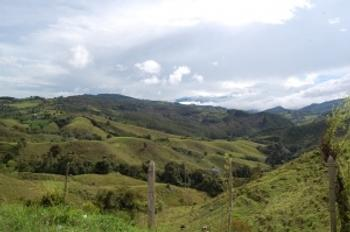 Drive from Medellin to Pereira-Zona Cafetera
